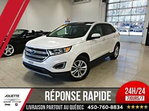 2015 Ford Edge SEL, AWD, CUIR, TOIT, NAV, BLUETOOTH