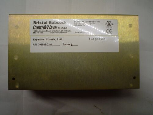 396559-03-4 Bristol Babcock ControlWave Series B Expansion Chassis 2 I/O