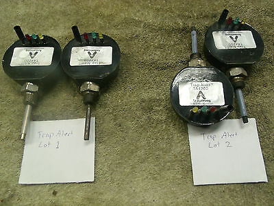 ARMSTRONG TRAP ALERT MODEL TA4200 Lot of 2, new and used TA 4200 TA-4200