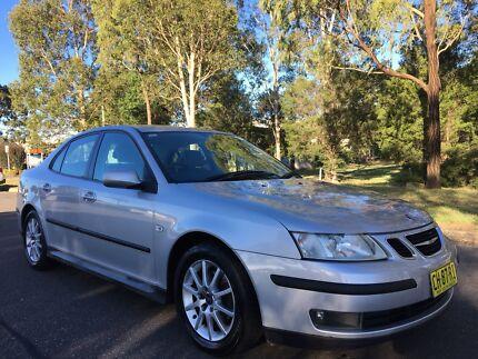 2006 Saab 9-3 Sedan ARC 2.0T Auto Log Book Service Low Kms