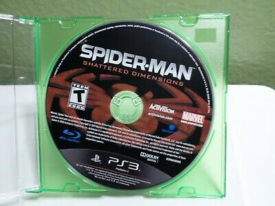 Spider-Man: Shattered Dimensions (Sony PlayStation 3, 2010) DISC ONLY