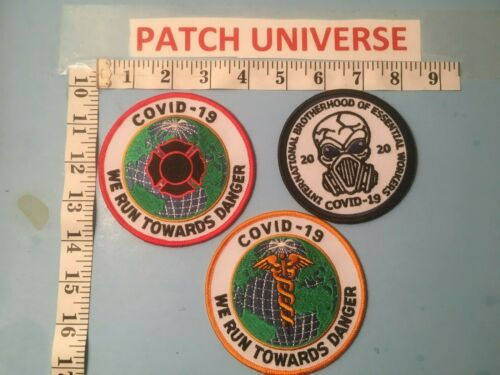 LOT OF 3 DIFFERENT VIRUS  PATCHES F029