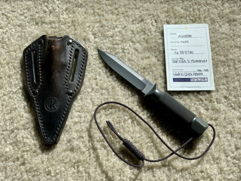 Chris Reeve Aviator - CRK Classic SA Knife