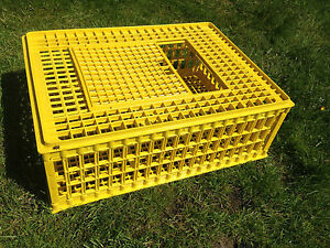 POULTRY CRATE CHICKEN TRANSPORT CARRIER