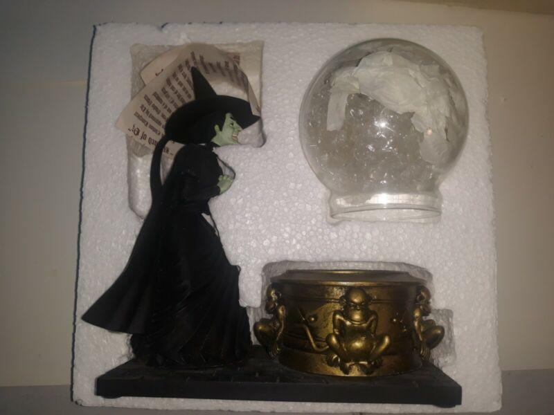 Wizard Of Oz Witch with Glass Globe Fossill Watch Warner Bros 1998 Limited Editi