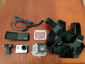 GoPro Hero 3 Black Edition, 32gb mem card,2x battery, chest mount Keperra Brisbane North West Preview