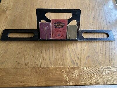 Antique Vintage Book stand, folds flat