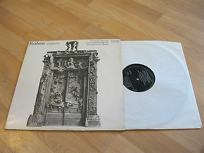 LP Brahms Orgelwerke Albrecht Wagnerorgel Berlin ETERNA Edition DDR 827220