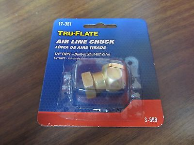 Tru-flate Direct Air Line Chuck 14 Fpt 17-351 New