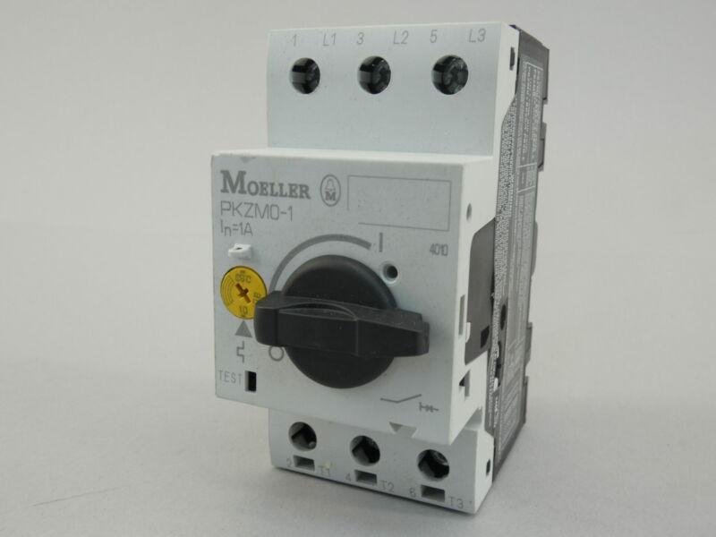 Moeller PKZMO-1 Manual Motor Starter, 50kA-600VAC - NEW Surplus!