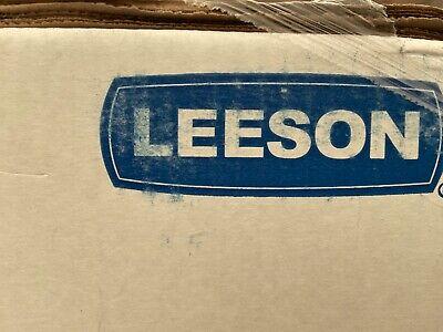 New 140414.00 10hp Leeson Electric Motor Tefc 1725 Rpm 215t 1ph. Farm Duty