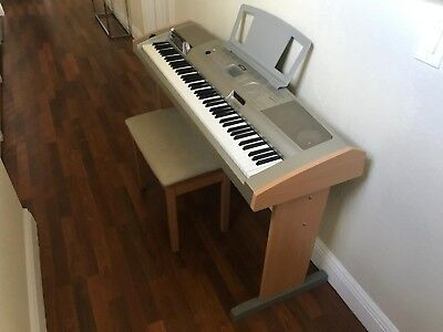 Yamaha DGX-500 Portable Grand Piano w/ Wooden Bench Seat for sale  Miami