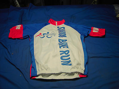 Hy Vee Cyclist Short Sleeve Jersey Size Small Full Zipper