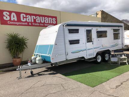 2008 COMPASS NAUTILUS 23' OFFROAD BUNK VAN with SHOWER/TOILET Klemzig Port Adelaide Area Preview