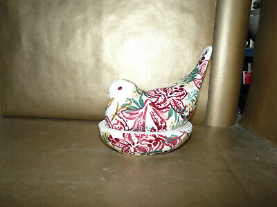 emma bridgewater red stargazer lily pigeon