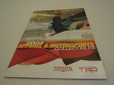Toyota TRD Apparel & Mortorsports Collectibles 2004 Brochure / Catalog Mint Cond