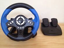 PS2 Gaming Wheel and Foot Petals Armidale 2350 Armidale City Preview