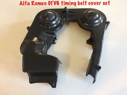 Alfa Romeo GTV6 timing belt cover set 🍀
