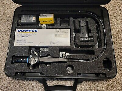 Olympus Lf-gp Bronchoscope With Maj-922 Lithium Battery Light Attachment