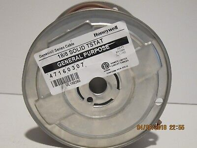 Honeywell Genesis 4716, 18/8 Thermostat Cable Wire BRAND New Spool 250',F/SHIP!!
