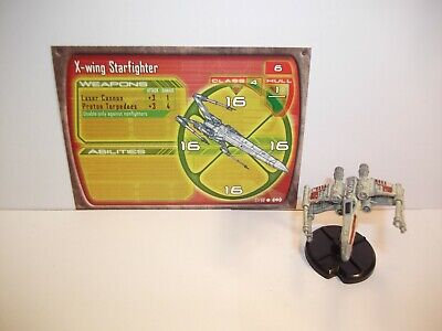Star Wars Miniatures - X-wing Starfighter 27/60 - Starship Battles