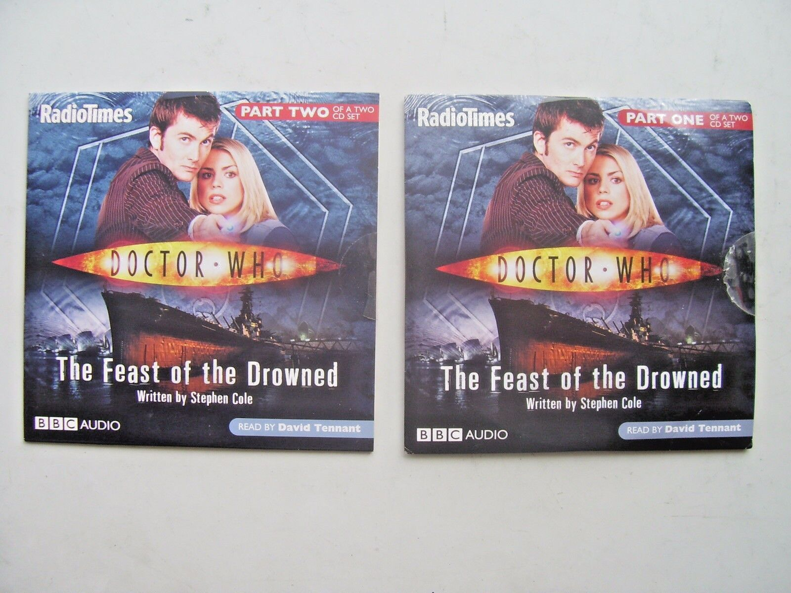 Doctor Who  The Feast of the Drowned CD Audio Soundtrack (NEW and SEALED)
