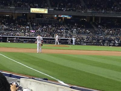 2 - Second Row Field Level Sec. 110 New York Yankees Tickets v Baltimore 6/24/20