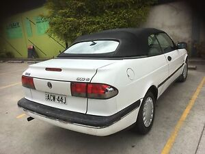 1995  SAAB 900 Convertible Low Km Silverwater Auburn Area Preview