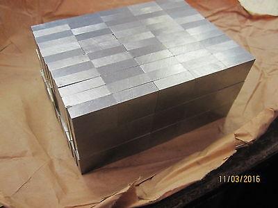 180 Alnico5 Magnets Square Rectangle Bars  0.63 X 0.240 X 0.785
