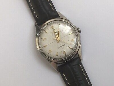 Rare Vintage TISSOT Seastar Automatic Gents Watch c1955 Running/Needs Attention