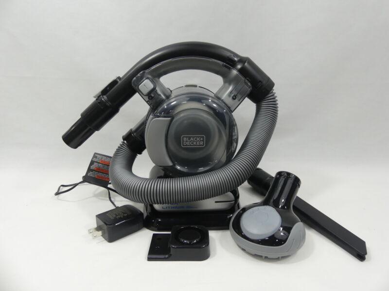 BLACK+DECKER 20V Max Flex Handheld Vacuum, Cordless, Grey (BDH2020FL)