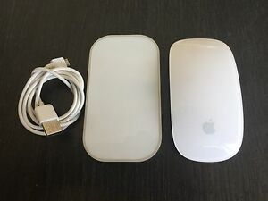 Apple Magic Mouse and Mobee Magic Charger