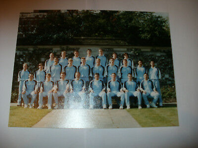 OLD PHOTO OF A ONE DAY MIDDLESEX CRICKET SQUAD