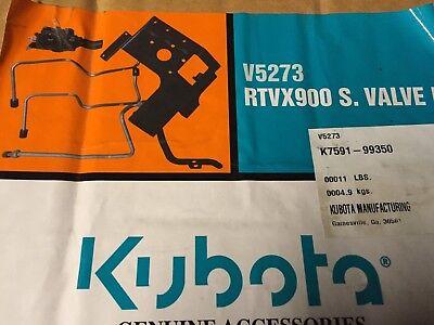 K7591-99350 Kubota Hydraulic Single Valve Kit V5273 - Fits X900 X1120d X1100c