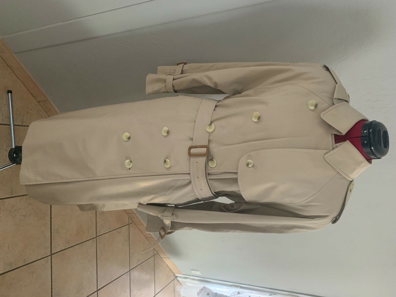 Superbe trench imperméable femme burberry t42-44