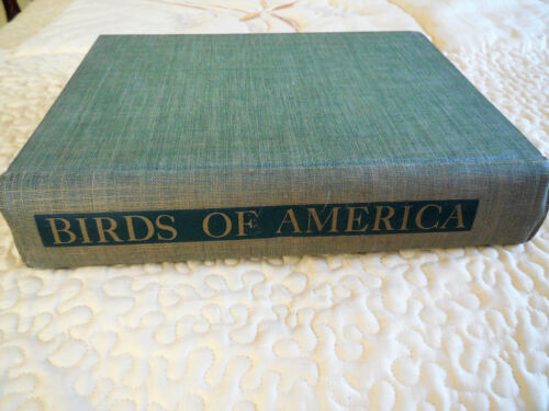 VINTAGE BIRDS OF AMERICA PUBLISHED BY T GILBERT PEARSON 1942  106 COLOR PLATES