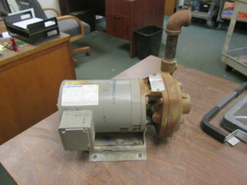 Flowserve Pump w/ Motor 1.5X1X5 2000 85GPM 75TDH 230V 3HP 8.2A Used