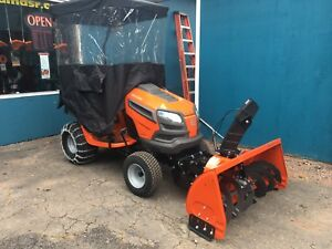 "Husqvarna Snowblower/Lawnmower Package 48"" Mower/42""Snowblower"
