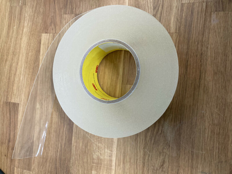 3M Helicopter Tape 8663HS Clear Bike Frame Protection 2 inch wide $15 for 4 feet