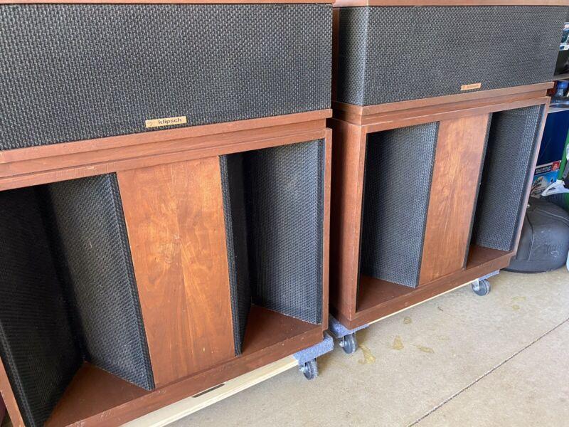 Klipsch Belle speakers