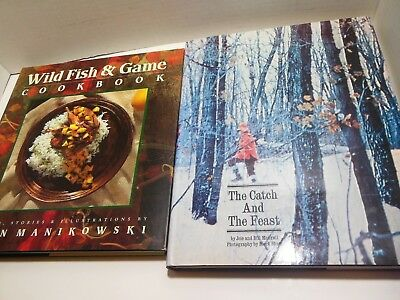 Wild Fish and Game Cookbook LOT Catch Feast Recipes Hunting Food Birds Venison