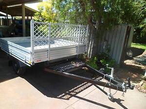 Trailer , alum tray , strong galv sub frames, yet to be lic Beckenham Gosnells Area Preview