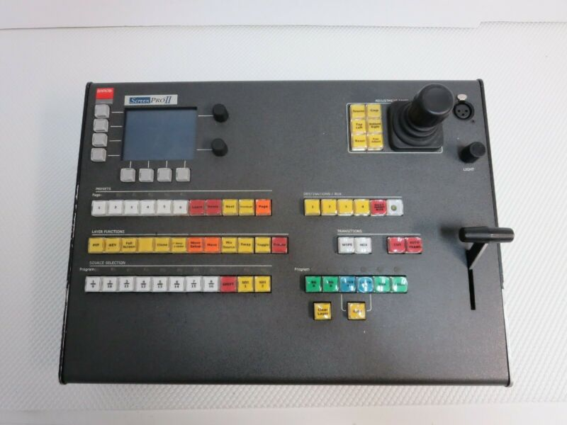 Barco Screen Pro II Video Remote Controller (Missing 1 Button) #8453