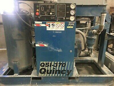 Quincy 75 Hp Qsi-370 Rotary Screw Compressor