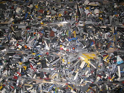 LEGO STAR WARS 400 PIECES GENUINE BRICKS, PARTS & FIGURE. MIXED ASSORTED BUNDLE
