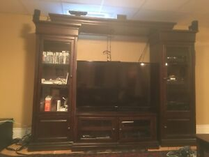Large TV wall unit