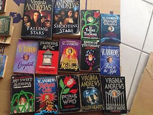 Bulk book sale - Virginia Andrews Meadowbrook Logan Area Preview