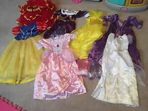Girls dress up dresses / costumes