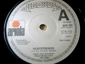 Krokus Heatstrokes 7 Quot Vinyl