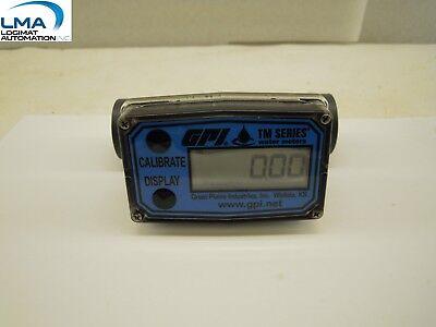 Gpi Tm100 Digital Water Meter Tm Series Rev E